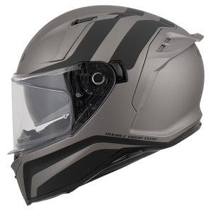 Bandit Integral Motorradhelm, schwarz-weiss, Größe M, schwarz-weiss, Größe M