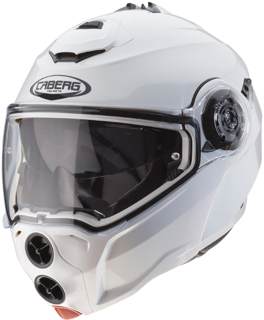 Caberg Droid Klapphelm Weiss XS